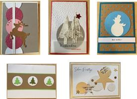 Sale of end of year cards